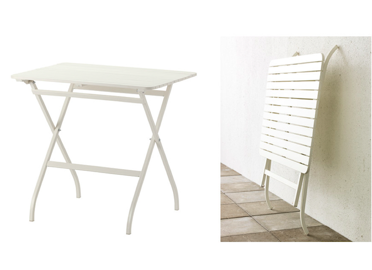 Brilliant Small Folding Table Ikea Mlar Table