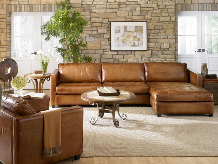 Brilliant Small Leather Sectional Sofa With Chaise Decorate Deep Sectional Sofa With Pillows The Decoras Jchansdesigns