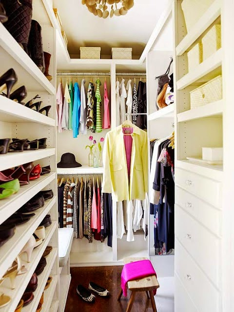 Brilliant Small Walk In Closet Organization Ideas 20 Incredible Small Walk In Closet Ideas Makeovers The Happy
