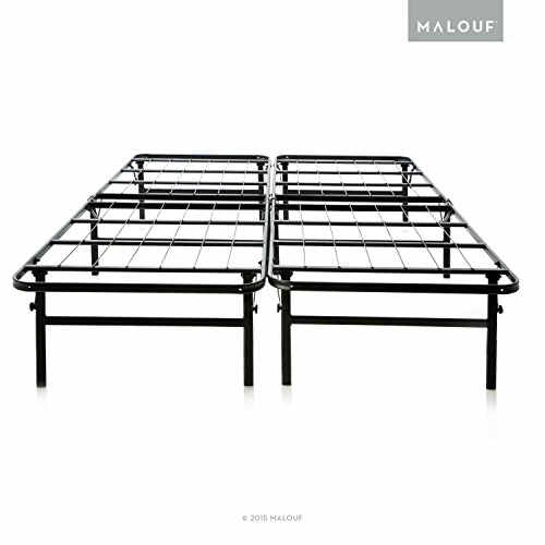 Brilliant Tall Box Spring Queen Structures Highrise Lth 18 Inch Tall Folding Bed Base High