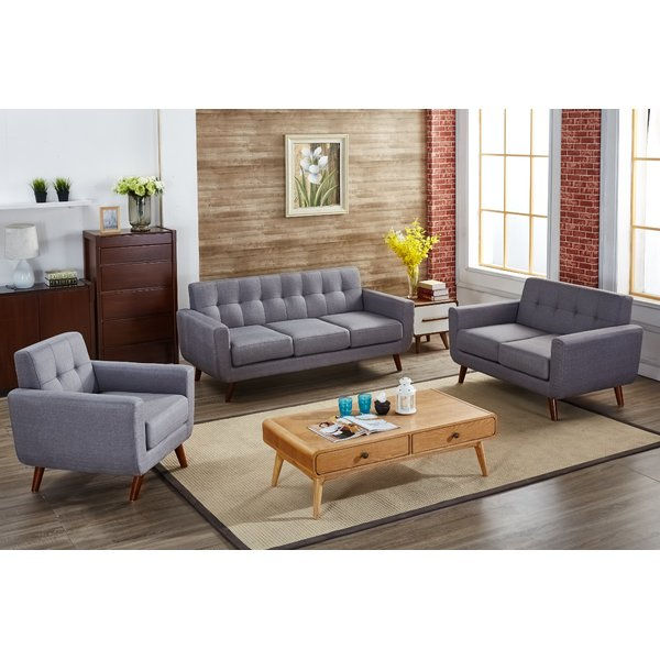 Brilliant Three Piece Living Room Set Langley Street Magic 3 Piece Living Room Set Reviews Wayfair