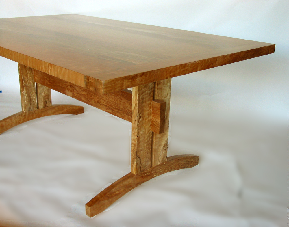 Brilliant Trestle Dining Table Trestle Dining Table Beautiful And Sustainable