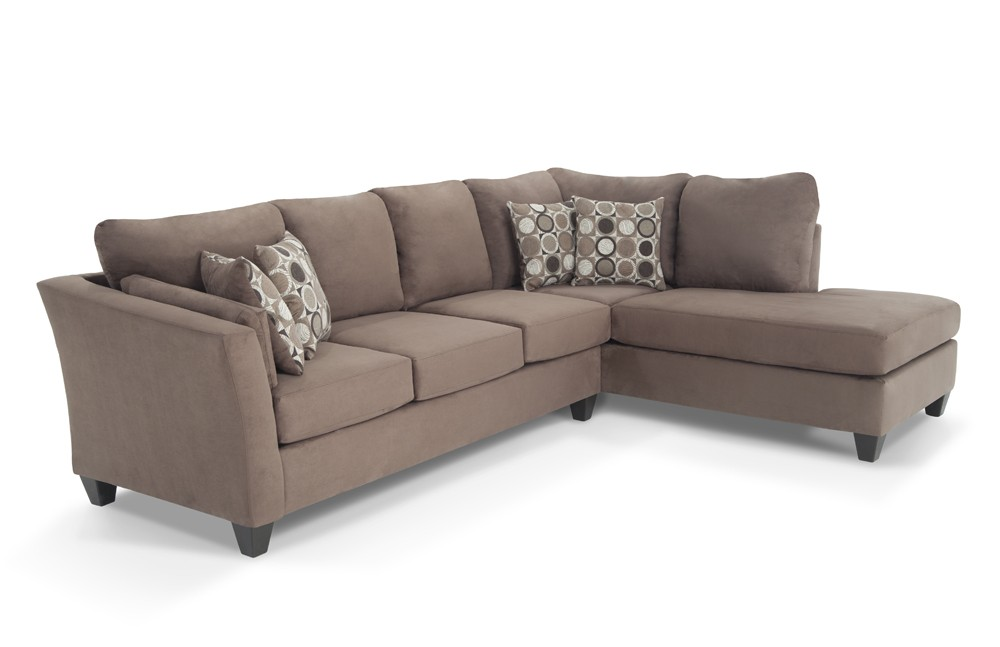 Brilliant Two Piece Sofa Set Libre Ii 2 Piece Left Arm Facing Sectional Bobs Discount Furniture