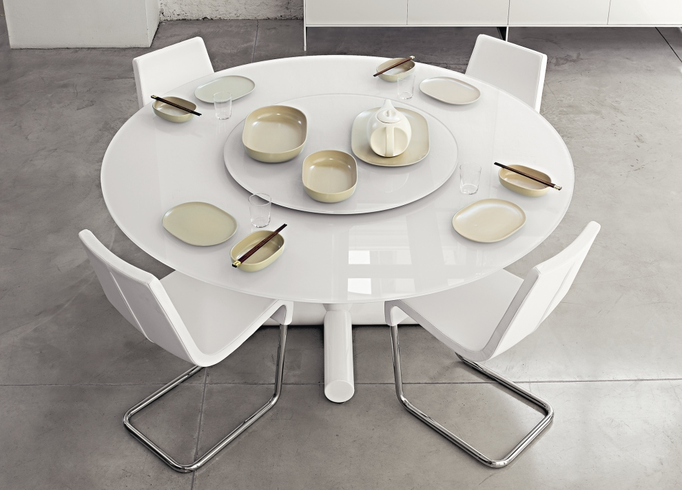 Brilliant White Round Modern Dining Table White Round Dining Table Ideas And Designs Rounddiningtabless