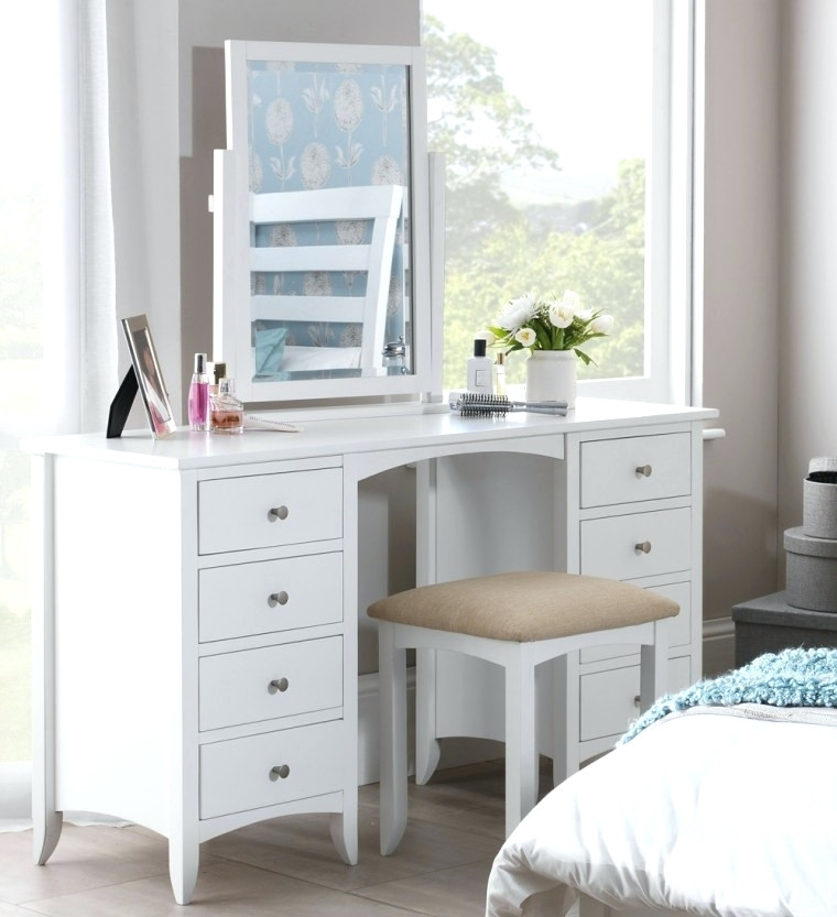 Brilliant White Vanity Desk With Mirror Desk Vanity Desk With Mirror Ikea Ikea Micke White Vanity Desk