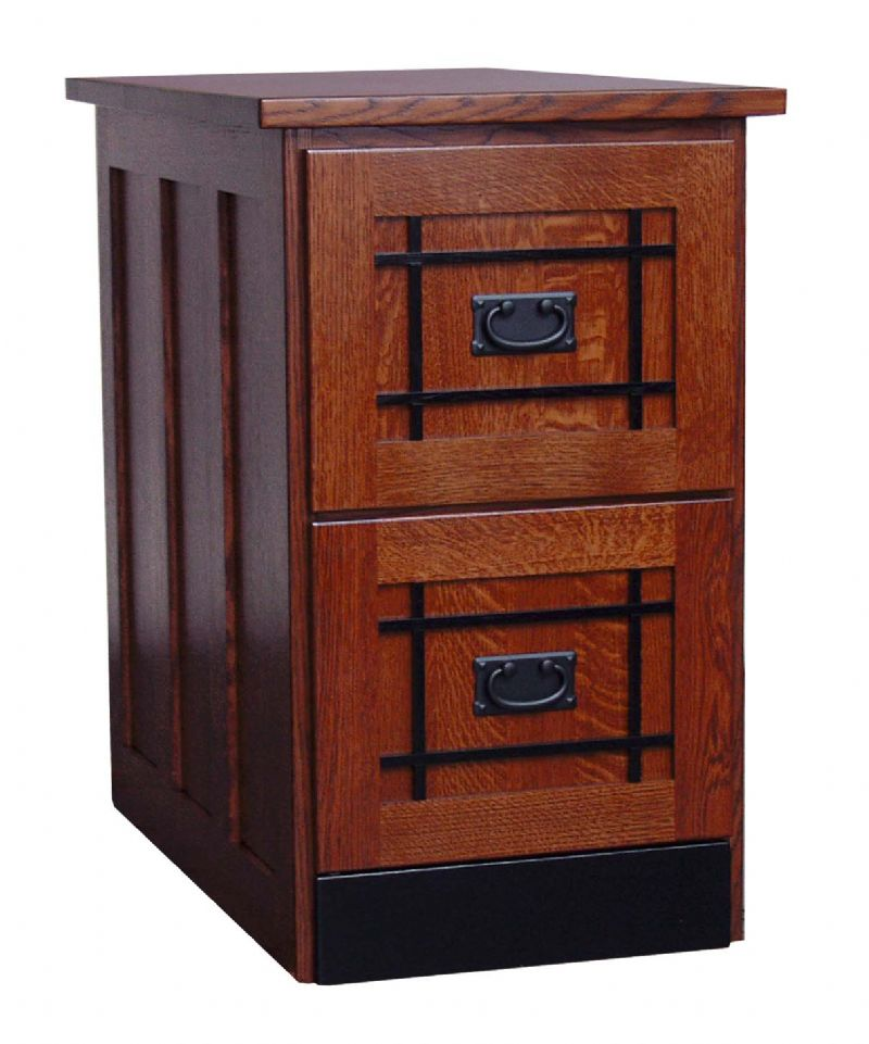 Chic 2 Drawer Wood File Cabinet With Lock Mission Two Drawer File Cabinet