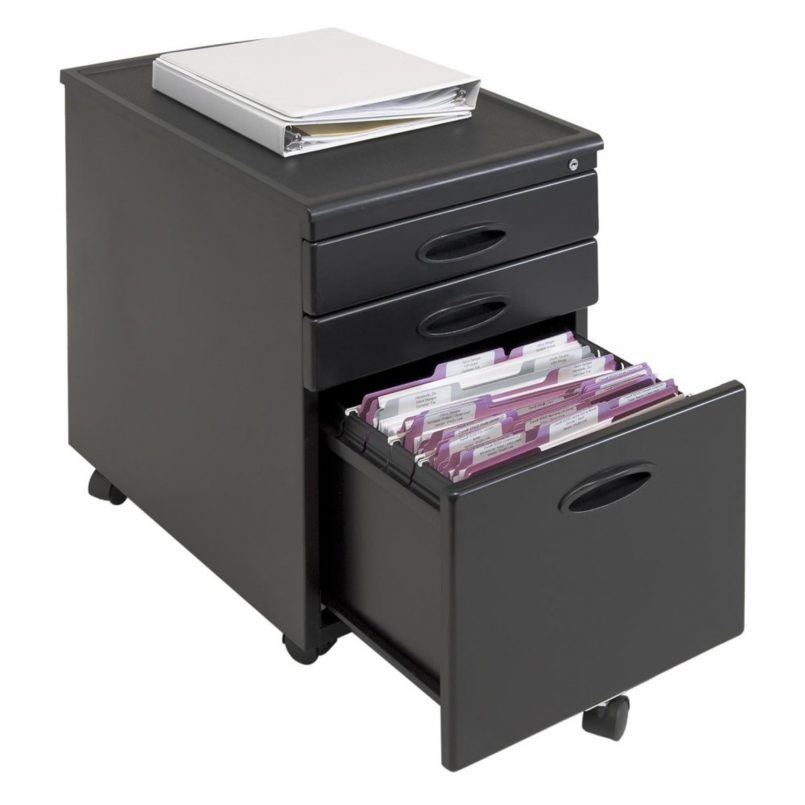 Chic 3 Drawer Metal Filing Cabinet With Lock Office Wonderful Hon Series 30 Inch Three Drawer Lateral File A