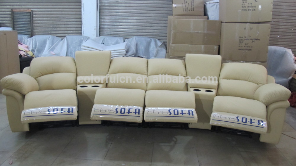 Chic 4 Seat Sectional Sofa Recliner Sofa With Coffee Table For Homesolanhotel 4 Seats Sofa