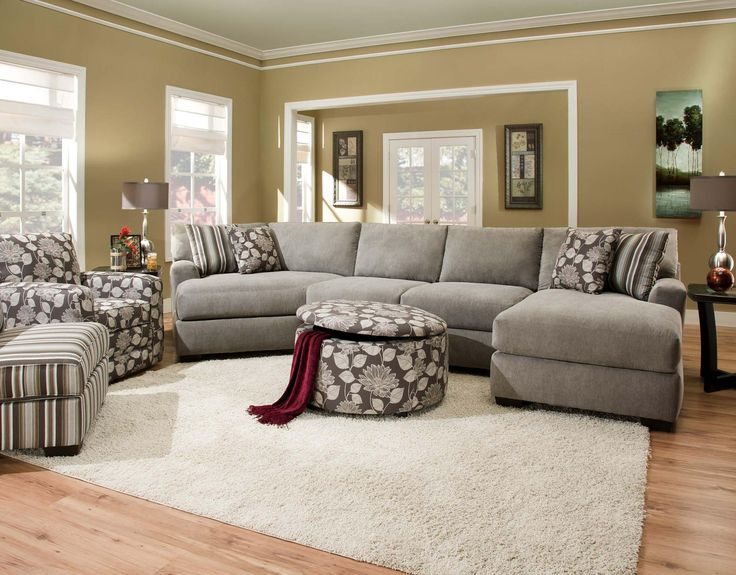 Chic 4 Seat Sectional Sofa Sectional Sofa With 4 Seats Furniture Pinterest