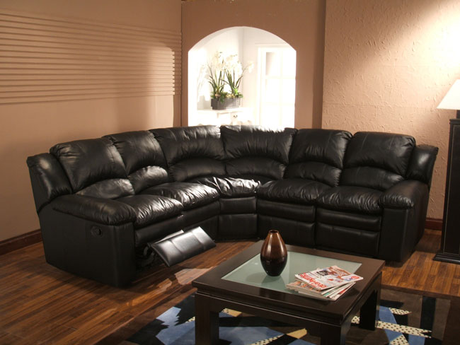 Chic 5 Seat Sectional Sofa Gorgeous Black Leather Reclining Sectional Sofa Black Leather 5