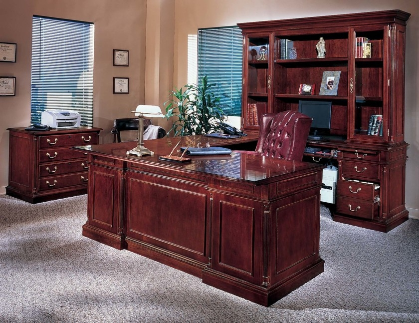 Chic Affordable Home Office Desks Home Office Captivating Modern Office Idea Presented With Dark
