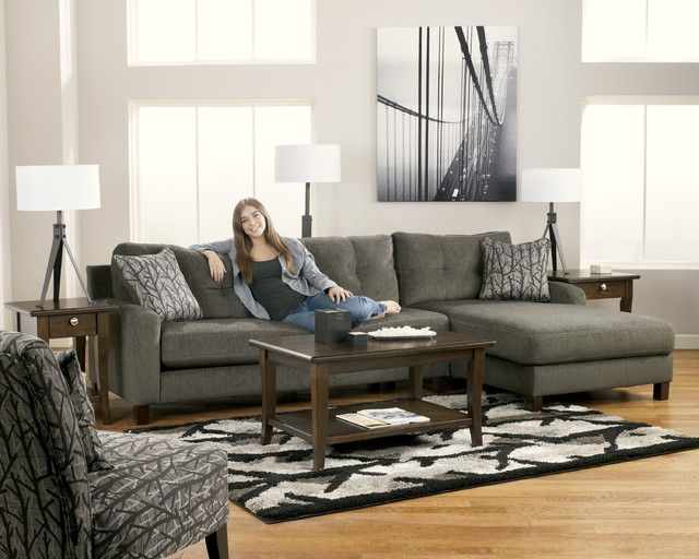 Chic Ashley Gray Leather Sofa Modern Grey Leather Sofa Sam Levitz Furniture Ashley Gray Alliston