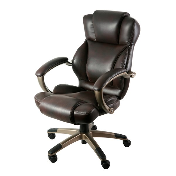 Chic Black Leather Office Chair Leather Office Chairs Youll Love Wayfair