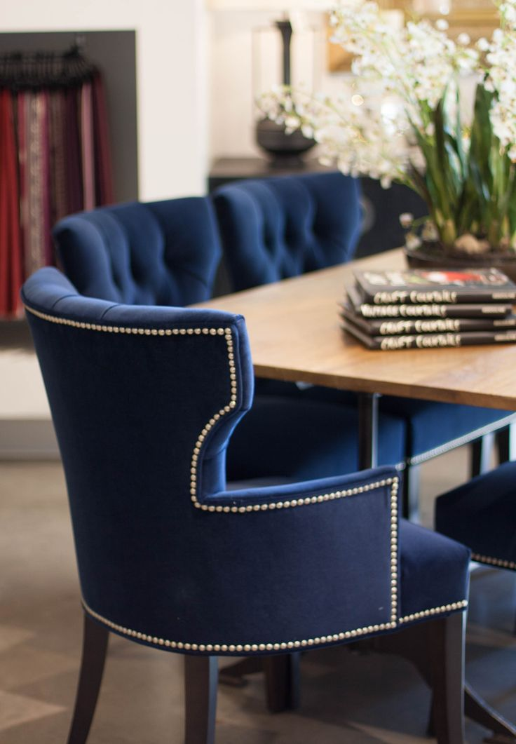 Chic Blue Dining Chairs Best 25 Blue Velvet Dining Chairs Ideas On Pinterest Teal