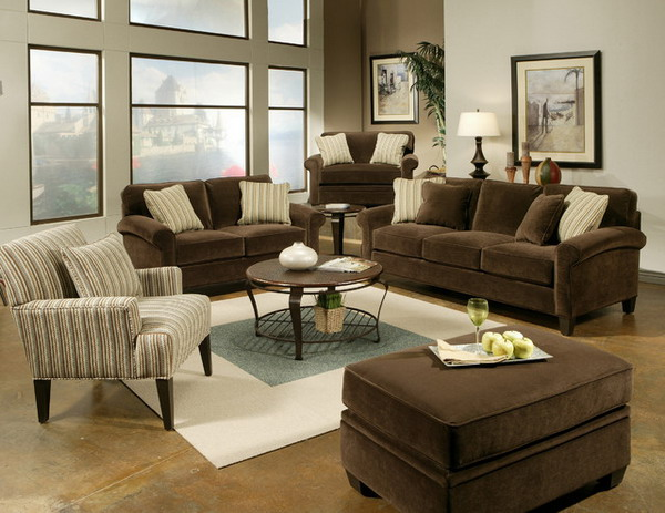 Chic Brown Couch Living Room Living Room Ideas On Pinterest Brown Sofas Brown Couch And Living