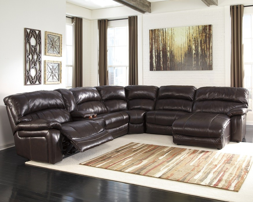 Chic Brown Leather Sectional With Chaise Brown Leather Power Reclining Sectional W Chaise Sam Levitz