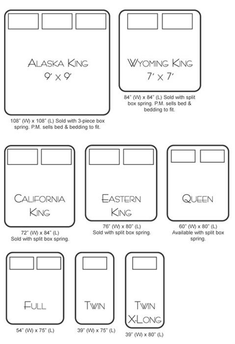 Chic Cal King Mattress Measurements Best 25 California King Bed Size Ideas On Pinterest California