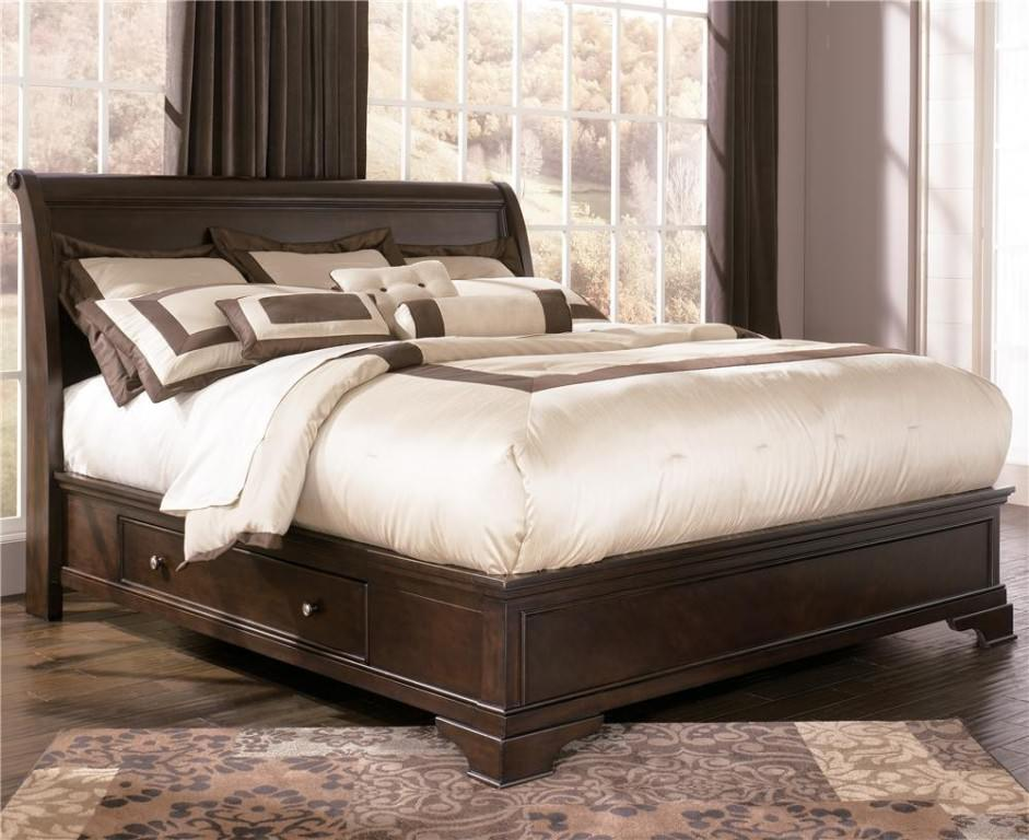 Chic California King Platform Bed With Drawers California Queen Bed Frames With Storage Modern Storage Twin Bed