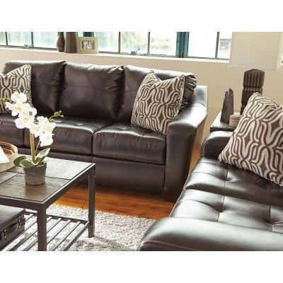 Chic Chocolate Living Room Furniture Coppell Durablend Chocolate Living Room Set Living Room Sets
