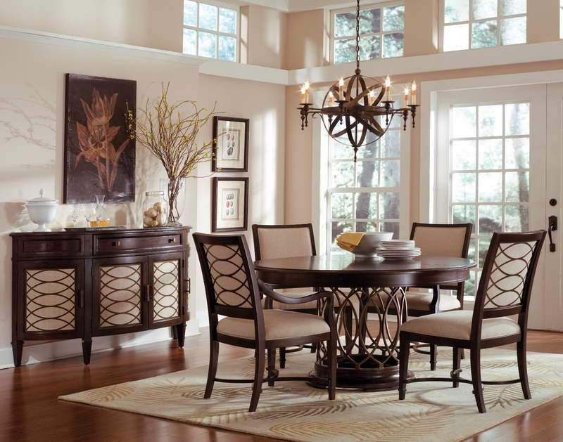 Chic Circle Dining Room Table Round Dining Room Table Lightandwiregallery
