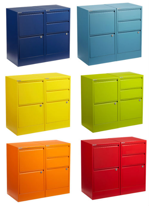 Chic Colored File Cabinets Colored File Cabinets Picture Yvotube