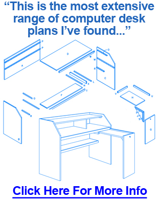 Chic Computer Desk Blueprints Desk Design Ideas Woodwork Variety Of Computer Desk Blueprints
