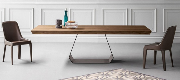 Chic Contemporary Dining Table Dining Tables Contemporary Dining Tables Ultra Modern