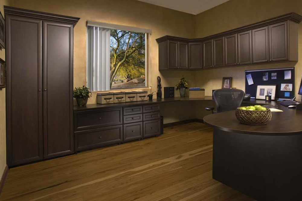 Chic Custom Home Office Design Custom Home Office Storage Cabinets Tailored Living