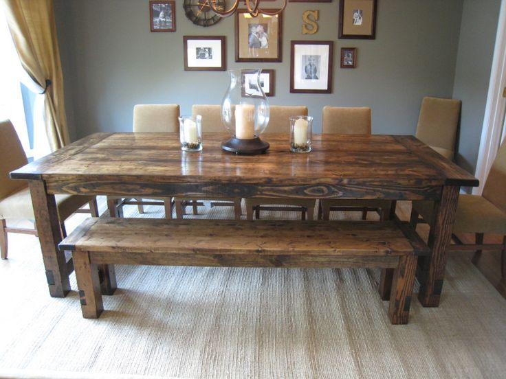 Chic Dining Room Tables How To Make A Diy Farmhouse Dining Room Table Restoration