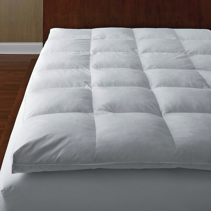Chic Down Pillow Toppers For Mattresses 5 Favorites Mattress Toppers Remodelista