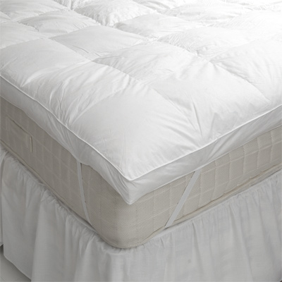 Chic Down Pillow Toppers For Mattresses Bedding Beautiful Bed Topper Down Alternative Mattress 1jpg Bed