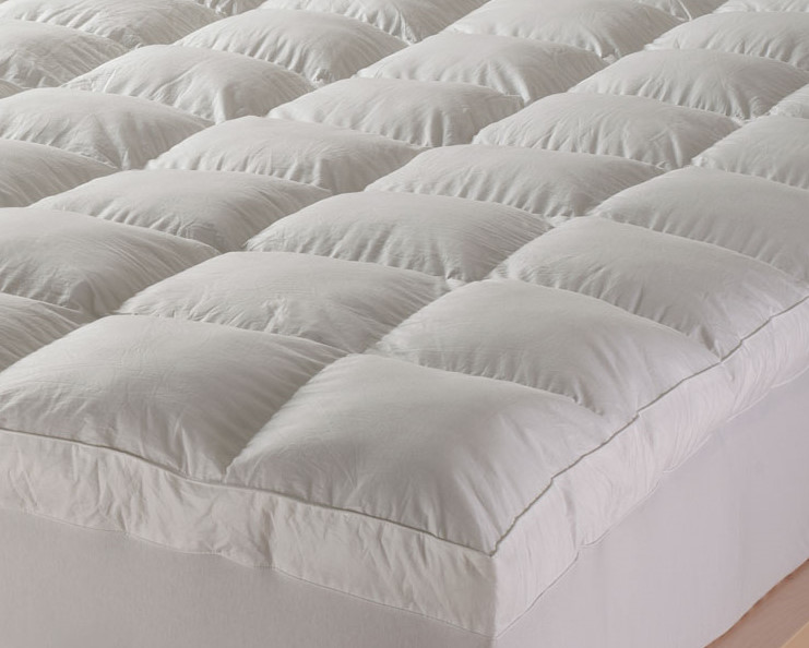 Chic Down Pillow Toppers For Mattresses Feather Mattress Topper Review Top 3 Feather Toppers