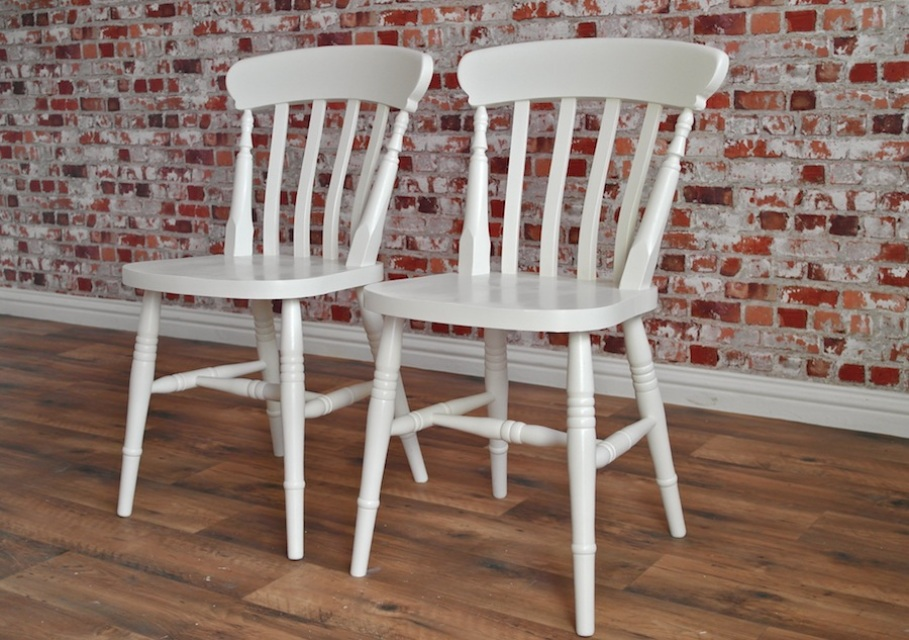 Chic Farmhouse Dining Chairs Farmhouse Dining Chairs Slat Back With Farrow And Ball