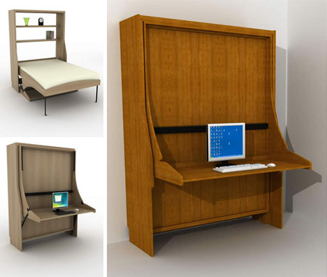 Chic Fold Out Desk Clutter Covers Fold Out Hide A Beds Conceal Messy Desks