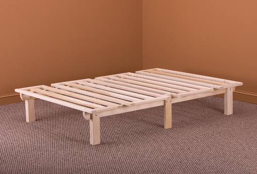 Chic Futon Style Bed Frame Eco Bed Hardwood Frame World Of Futons
