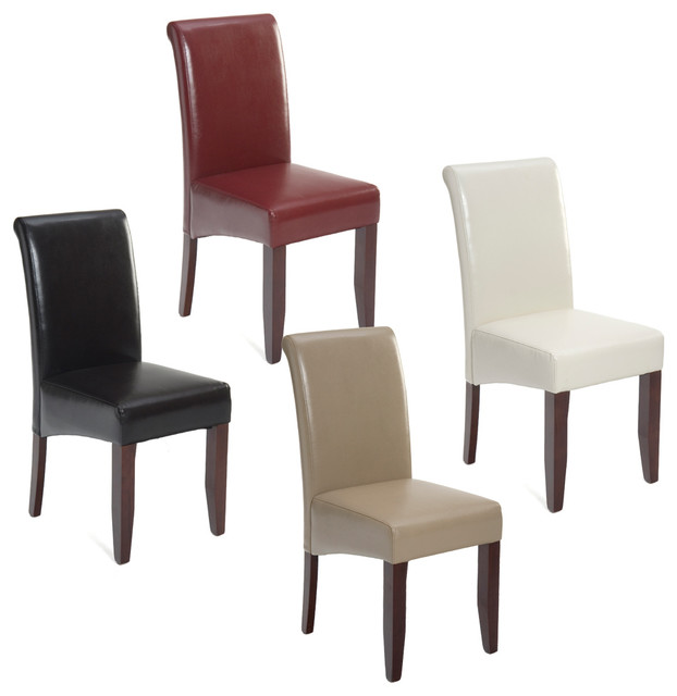 Chic High Back Parson Dining Chairs Chair Archives Coredesign Interiors