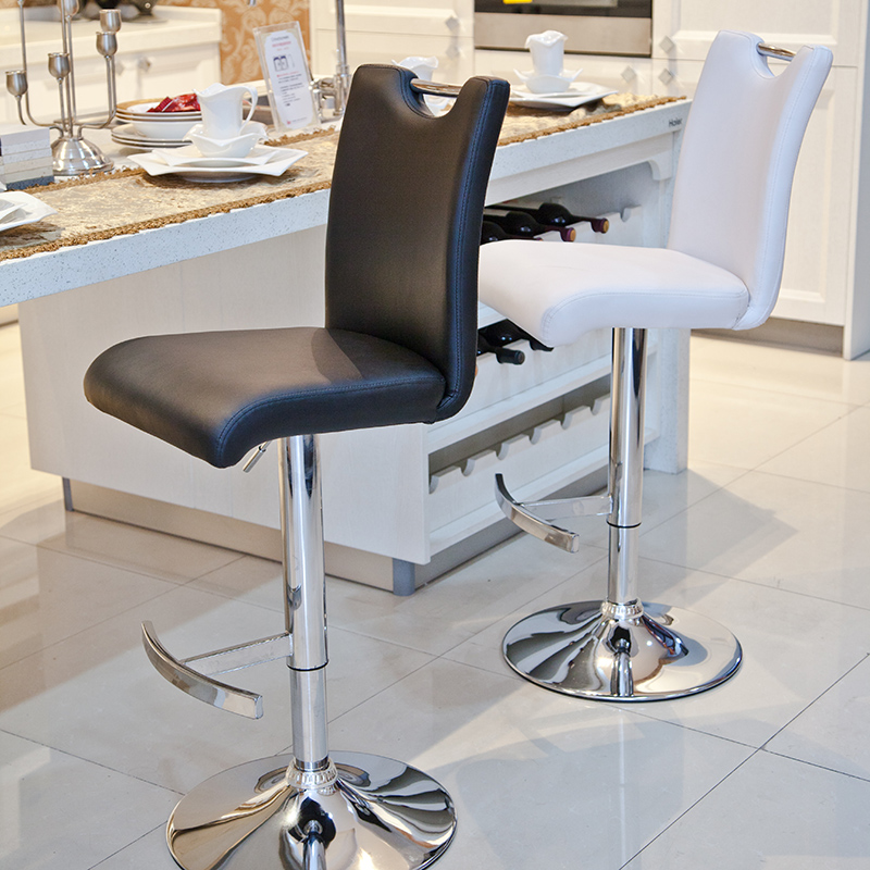 Chic High Desk Chair Fashion Barstool Bar Chair High Chair Front Desk Stool Lifting