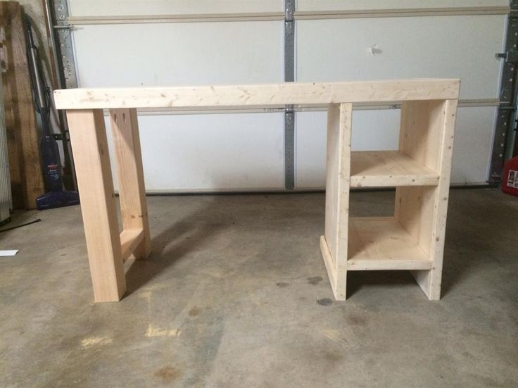 Chic Home Built Desk Home Made Desk This Way I Could Have A Desk That Actually Fits Me