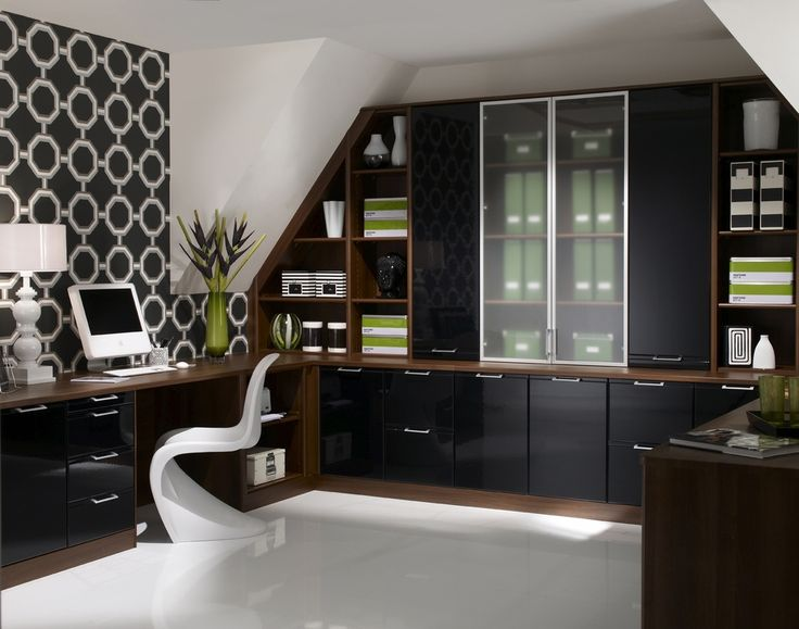 Chic House Office Furniture Best 25 Contemporary Home Offices Ideas On Pinterest