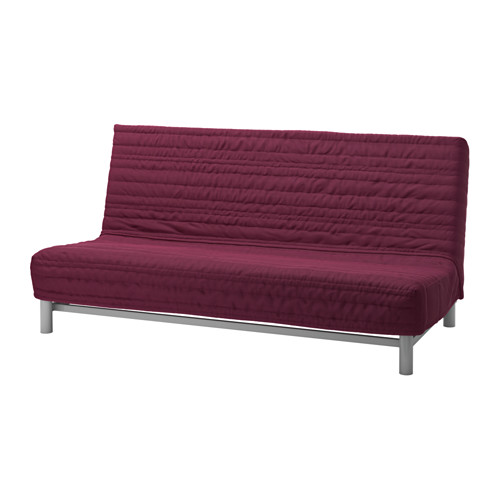 Chic Ikea 3 Seater Sofa Bed Beddinge Lvs Three Seat Sofa Bed Knisa Cerise Ikea
