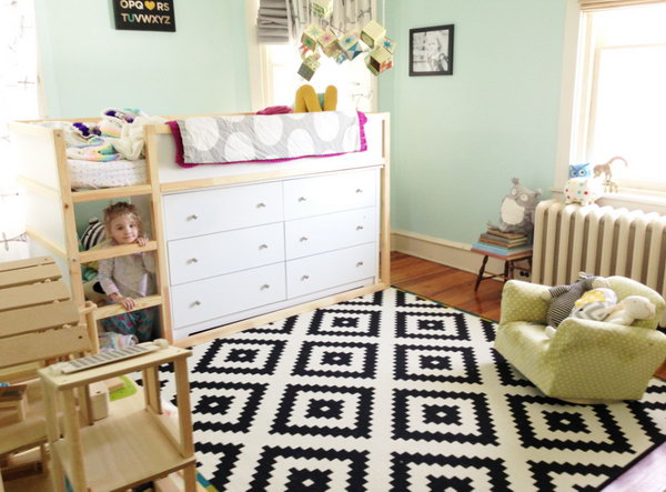 Chic Ikea Bed And Dresser 20 Awesome Ikea Hacks For Kids Beds Hative