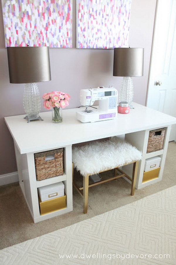 Chic Ikea Build A Desk 20 Cool And Budget Ikea Desk Hacks