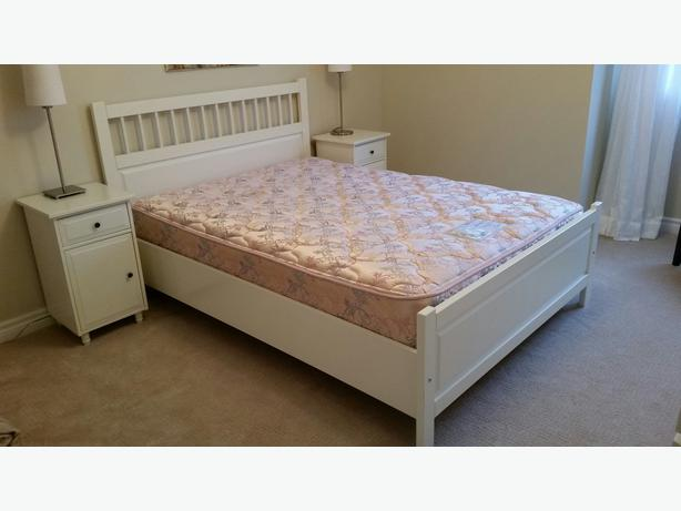 Chic Ikea Double Bed Mattress Fs Ikea Hemnes Double Bed Pick Up In Zurich 8045 English