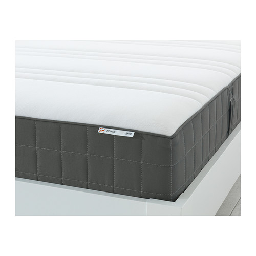 Chic Ikea Hovag Mattress Review Hvg Pocket Sprung Mattress Double Medium Firmdark Grey Ikea