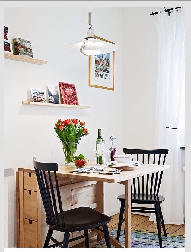 Chic Ikea Kitchen Tables For Small Spaces Best 25 Small Table And Chairs Ideas On Pinterest Small Kitchen