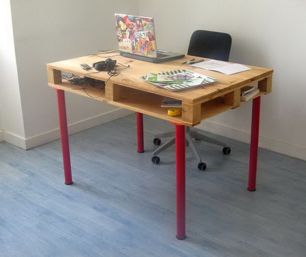 Chic Inexpensive Computer Desk 15 Diy Computer Desk Ideas Tutorials For Home Office Hative