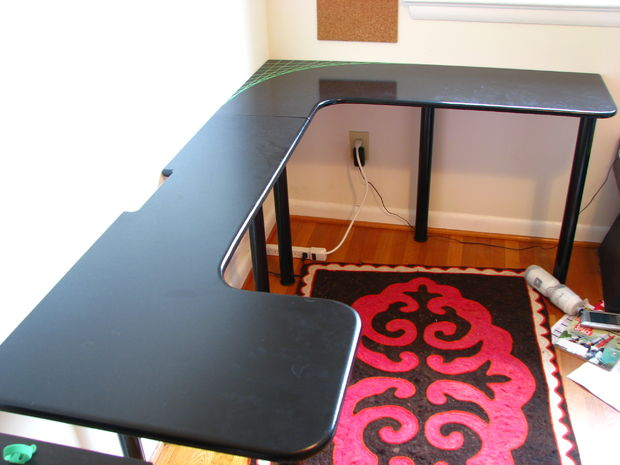 Chic Inexpensive Computer Desk Low Cost Computer Desk 8 Steps With Pictures