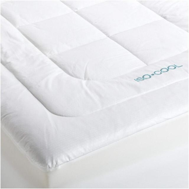 Chic King Foam Mattress Topper Iso Cool Memory Foam Mattress Topper With Outlast Cover King Ebay