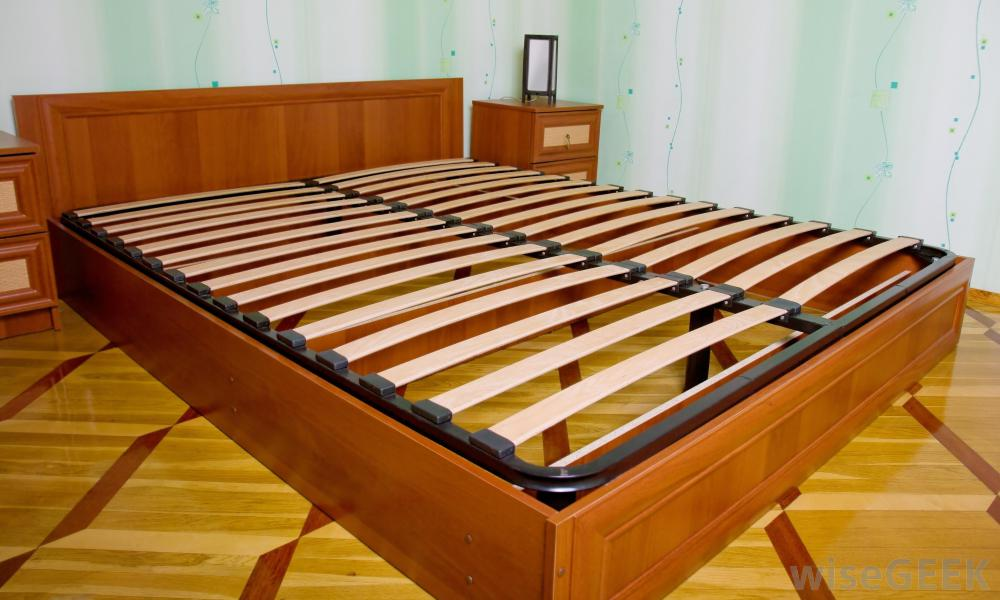 Chic King Size Bed With Slats Slats For Bed Frame What Is A Slat Bed Frame With Pictures Designs