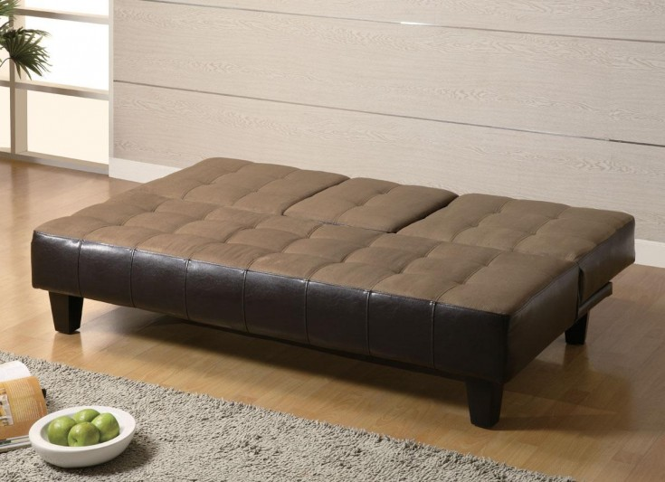 Chic King Size Futon Couch Furniture Appealing Contemporary Futon For Any Apartment Or